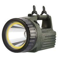 svietidlo LED 10 W LED + COB LED, dosvit 400 m + 20 m