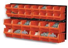 ekobox plastový, sada 28 boxov, 2 panely, 800 x 195 x 400 mm