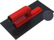 hladítko ABS, plastové, veľmi jemný raster, s otvorenou rukoväťou, 270 x 130 x 5 mm