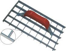 škrabák omietok, mrežový, ozubený, 290 x 150 mm