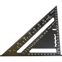trojuholník tesársky, hliníkový, 180 mm