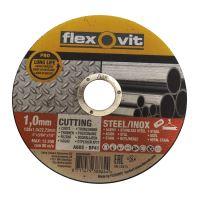 kotúč Flexovit, rezný, na kov, 125 x 22,23 x 2 mm, profi