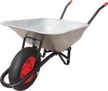 fúrik stavebný, ťahaná korba pozink, nafukovacie koleso, 80 L