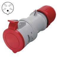 spojka pre prívod, plastová, 5 pólov, 16 A / 400 V, IP 44
