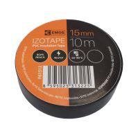 páska elektroizolačná, čierna, 15 mm x 10 m