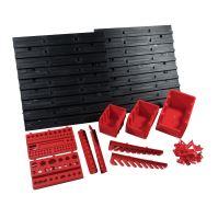 ekobox plastový, sada 10 boxov, 2 panely a 2 držiaky, 800 x 195 x 400 mm