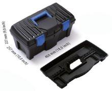 box plastový, na náradie, Caliber, 400 x 200 x 186 mm
