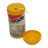 páska teflónová, v plastovom puzdre, 0,2 x 2 mm / 150 m