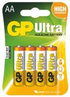 batérie GP Ultra Alkaline, LR6, ceruzka AA, blister, 4 ks, 1,5 V