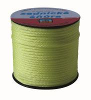 šnúra pletená, PPV, murárska, bez jadra, O 1,8 mm x 50 m, Lanex