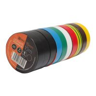 páska elektroizolačná, súprava 10 ks, 15 mm x 10 m