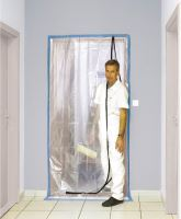 fólie ochranná, do dverí, 100 µ, 115 x 220 cm