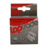 spona do sponkovačky, pozinkovaná, široká, balenie 1000 ks, 1,2 x 12 mm