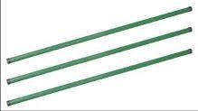 stĺpik plotový, železný, zelený, 2,5 m