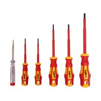skrutkovač elektrikářský, magnetický, CRV, 1000 V, súprava 6 ks