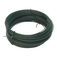 drôt viazací, poplastovaný, zelený, O 0,8 mm / 100 m