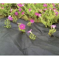 textília čierna, netkaná, priepustná, rola, 0,9 x 10 m, 50 g / m2