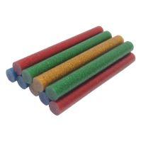 lepidlo tavné, 4 farby s trblietkami - červená, žltá, modrá, zelená 11,2 x 100mm, 10 ks