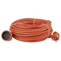 kábel predlžovací, oranžový, 30 m, ~ 250 V / 16 A