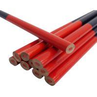 ceruzka tesárska, ovál, červenomodrá, sada 12 ks, 180 mm