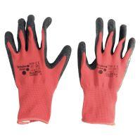 rukavice ALLSTAR, s nitrilovým potahom a úpletom, velikosť 8
