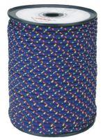 šnúra pletená, PES, s jadrom, O 6 mm x 100 m, Lanex