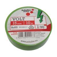 páska elektroizolačná, zelená, 15 mm x 10 m