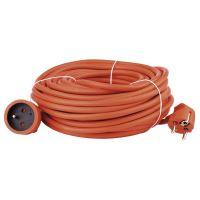 kábel predlžovací, oranžový, 20 m, ~ 250 V / 16 A
