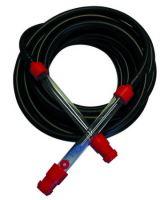 hadica nivelačná, gumená, čierna, sada, 2 ks trubica plast, 12 m