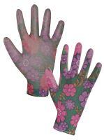 rukavice LEIVA, máčané v polyuretánu, veľkosť 8
