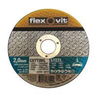 kotúč Flexovit, rezný, na kov a nerez, 115 x 22,23 x 1 mm, profi
